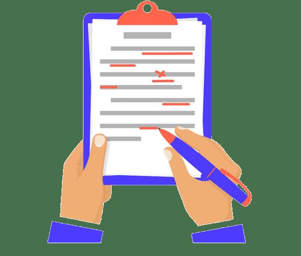 Цены на подготовку документов